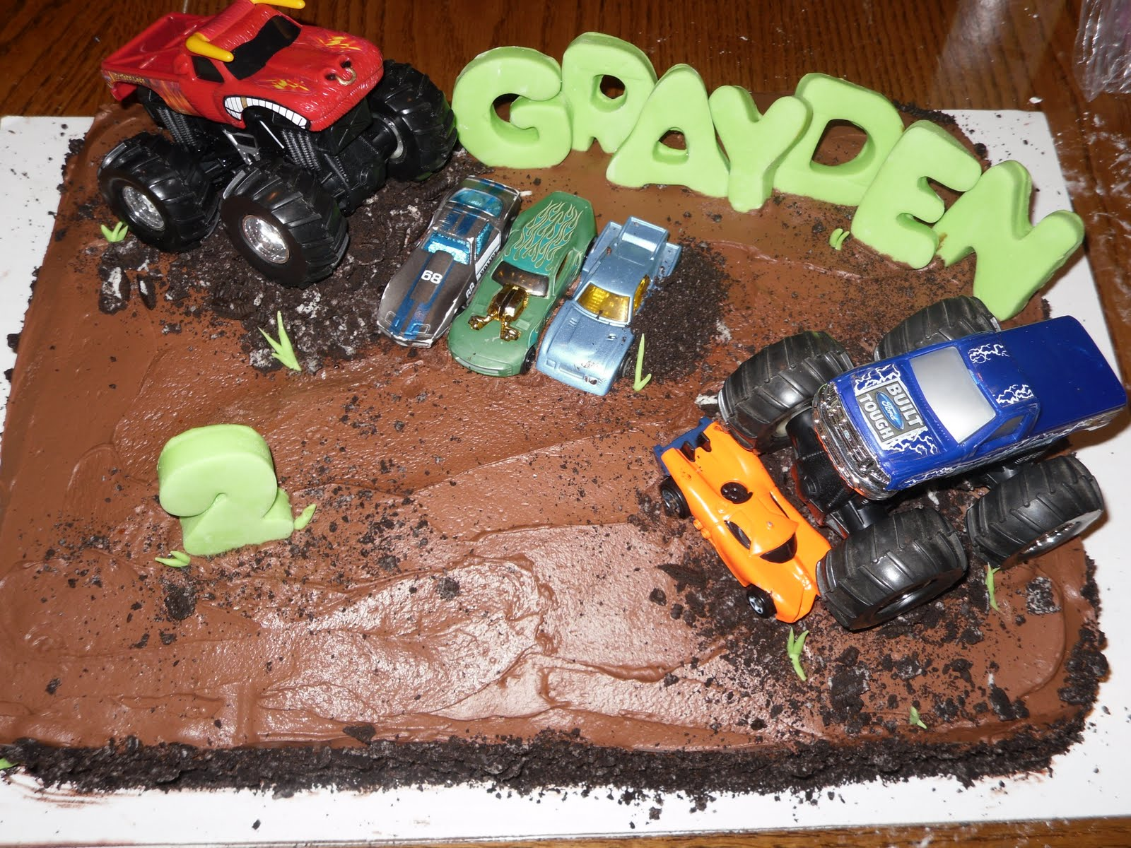 Marie's Cake Creations: Monster Jam Cake