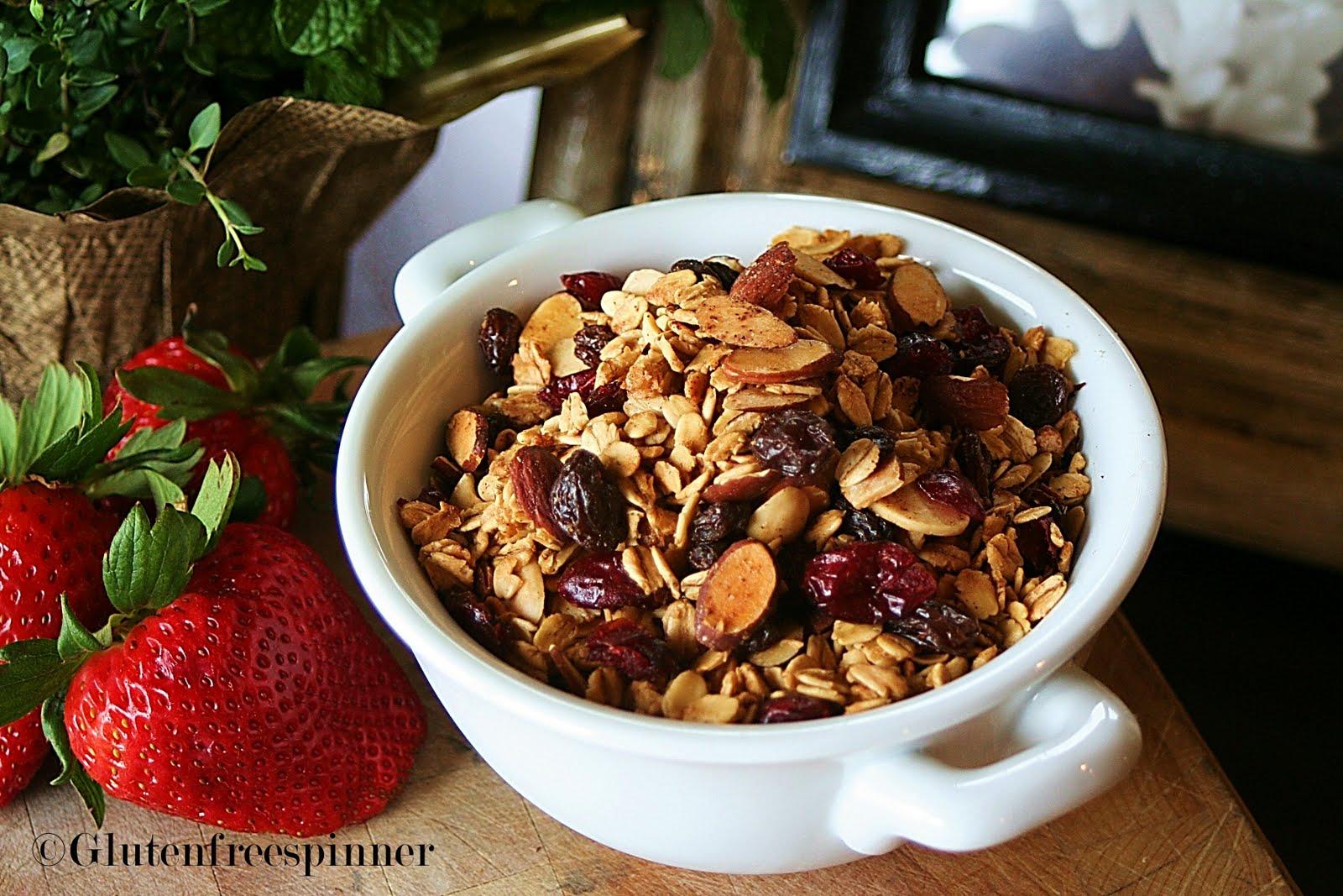 Gluten-Free Almond-Maple Granola Clusters Recipes — Dishmaps