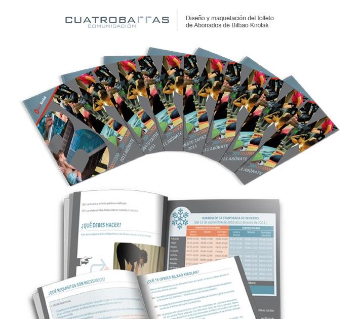 Cuatrobarras comunicaci n folleto abonados bilbao kirolak for Oficina de correos bilbao