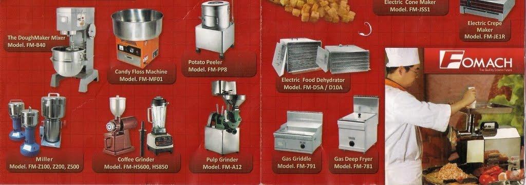 Fomac Indonesia - Mesin Pengolah Makanan