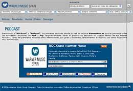 Rockcast de Warner Music Spain