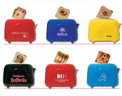 tostadoras que imprimen tu logotipo