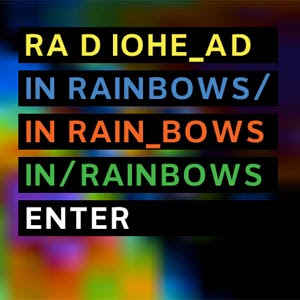 radiohead, inranbows