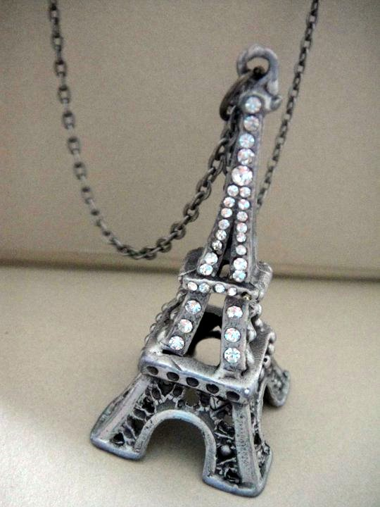 Fashion accessorize eiffel tower necklace eiffel tower necklace mozeypictures Image collections