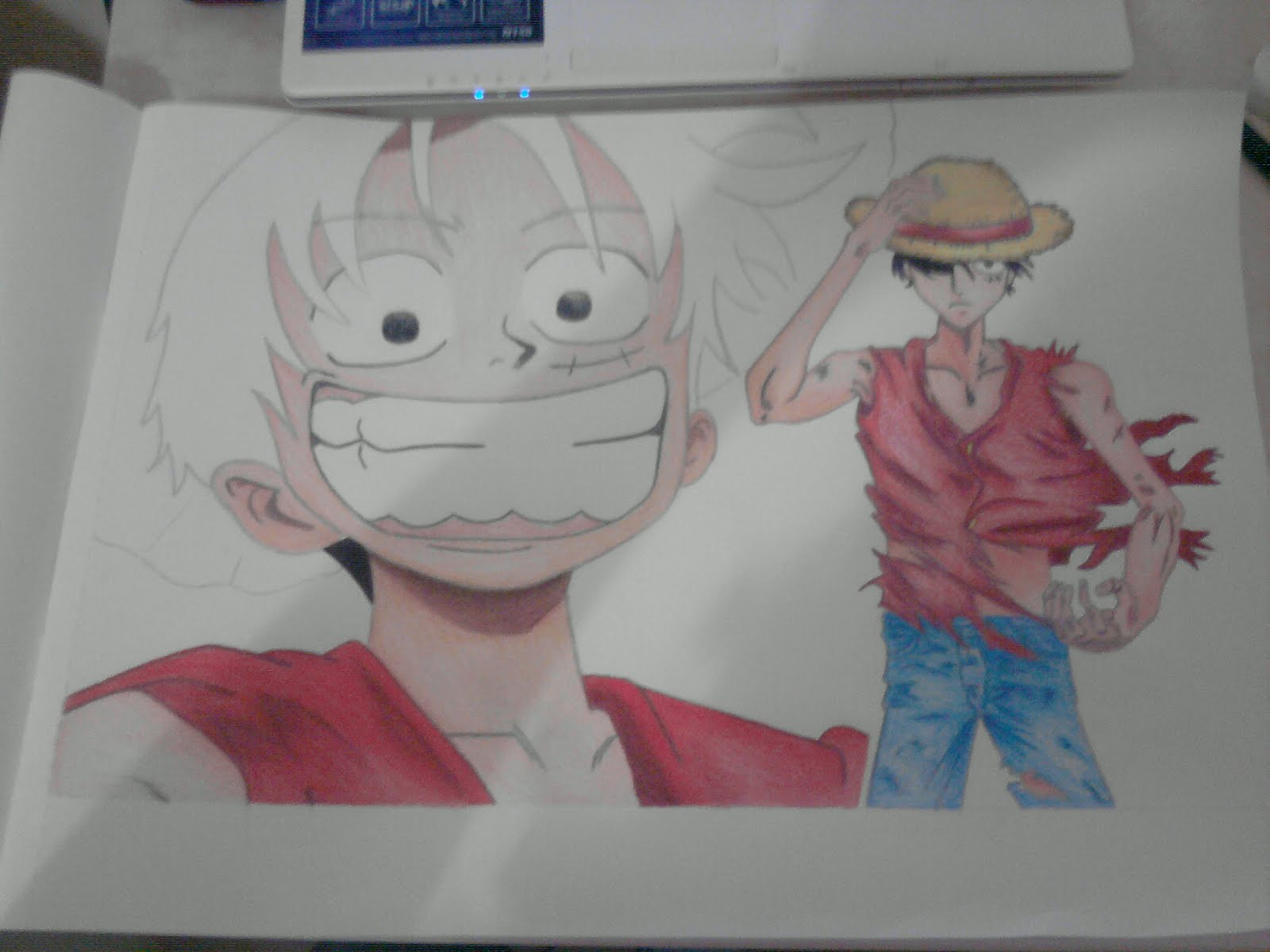 Mi dubujo de Luffy (One piece)