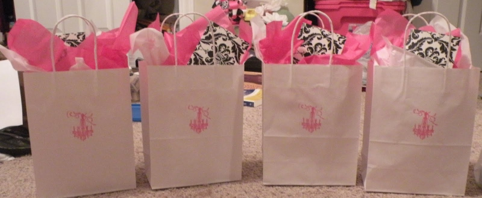 lucky in love bridal shower hostess gifts