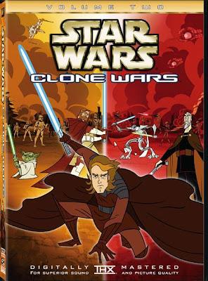 Telona - Filmes rmvb pra baixar grátis - Star Wars - Clone Wars Vol. 1 e 2 DVDRip Dublado