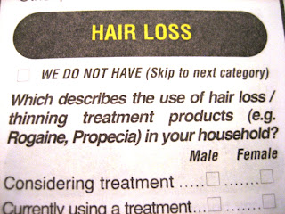 hair loss: we do not have