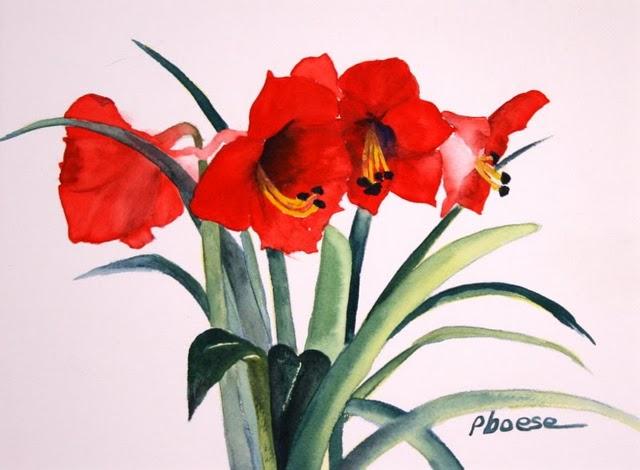 Watercolors by Pat Boese