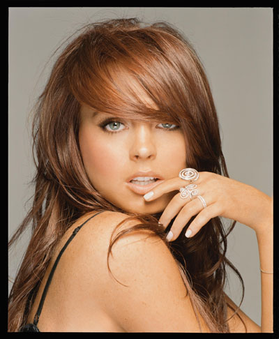 lindsay lohan red hair-3