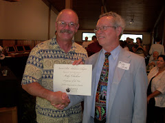 Andy Cheshier, Chairman of CARE, Awarded Organizer of the Year Award from the Sierra Club