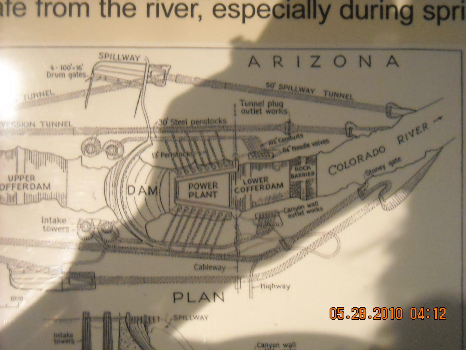 Joe Diane Mallerys Big Adventure Modern Day Gypsies Hoover Dam Power Plant Diagram