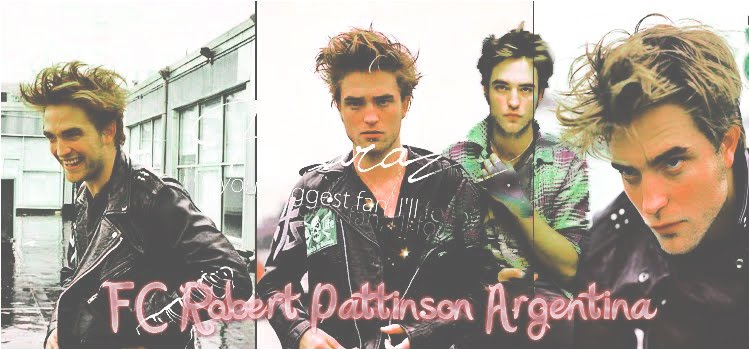 Robert Pattinson Fans Club Argentina