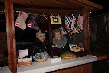 Nasze z siostrą stoisko na Jarmarku Bożonarodzeniowym