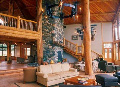 Natural Log Homes New Zealand Most Beautiful Houses In
