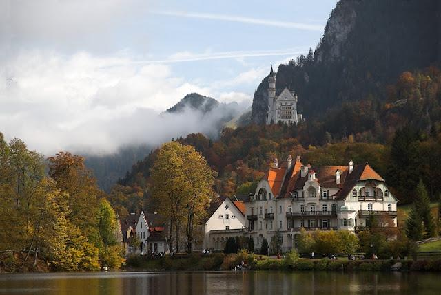 Neuschwanstein Castle Bavaria Germany Alps Most