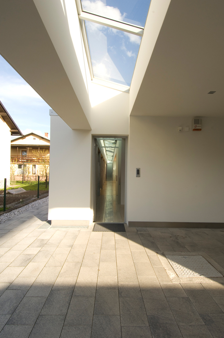 Sliding Glass Walls Of The House In Slovenia Most