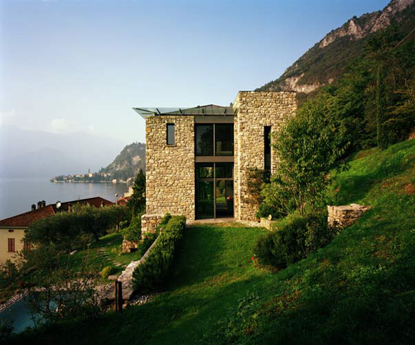 Rustic house design on lake como italy most beautiful houses in the