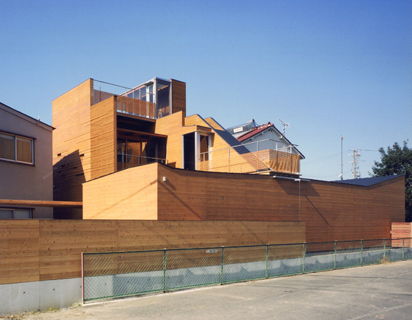 Design of modern wooden japanese house most beautiful for Most modern house in the world