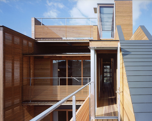 Design of modern wooden japanese house home arsitektur Modern japanese architecture