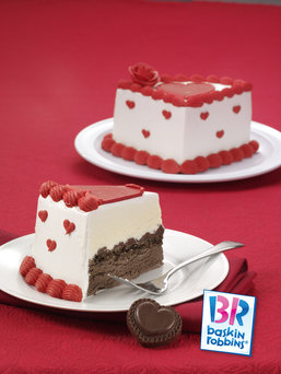 Motherhood Moment Mealtime Magic BaskinRobbins Valentines Cakes