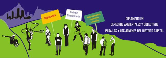 Derechos Ambientales y Colectivos para las y los jóvenes en Bogotá