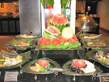Penang - Melon carving buffet