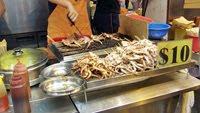 Hong Kong - cuttlefish