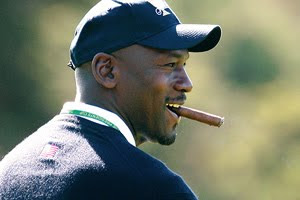 A city official has asked the PGA Tour to remind Michael Jordan that he can't smoke cigars at Harding Park during the Presidents Cup. - michael%2Bjordan%2Bsmoking%2Ba%2Bcigar%2Bat%2Bsfo