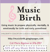 Save $25 on doula services or Music Birth class!