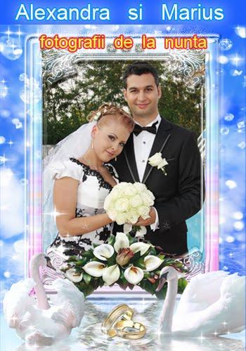Alexandra  si  Marius  -  Fotografii  de  la  nunta