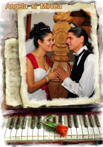 Angela  si  Mircea  - ep. 5  fotografii  de  la restaurant