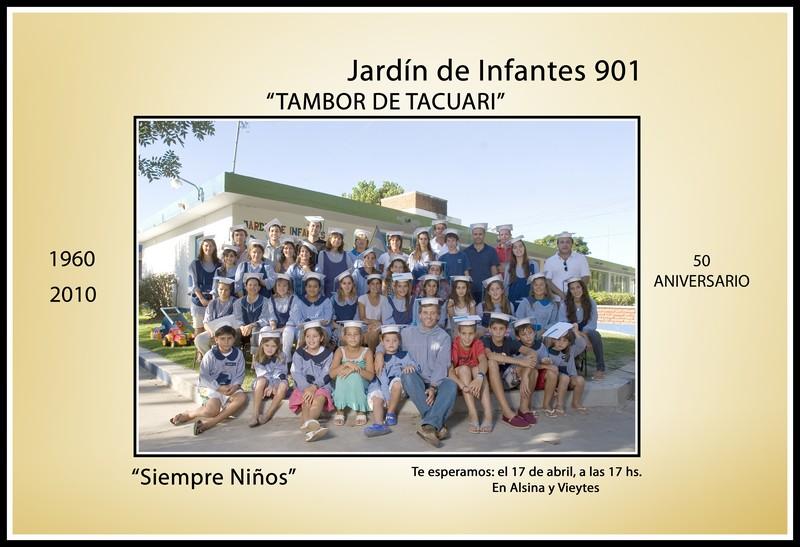 Jard n de infantes n 901 tambor de tacuar san antonio for Jardin 901