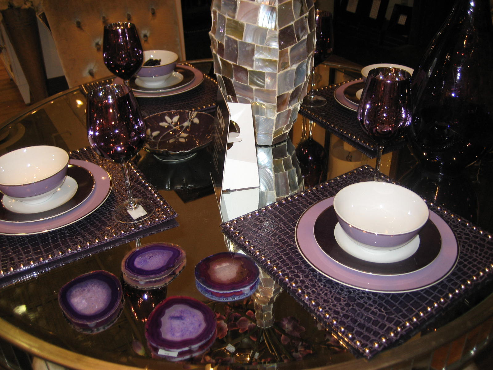 Becoming Mrs Ford Z Gallerie Purple Interior Accents
