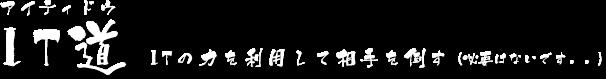 IT道 :: セイノブログ