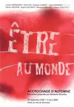 """""""Etre au monde"""". Exposition collective"""