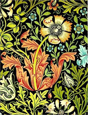 La Maison Boheme: Art Nouveau Motifs