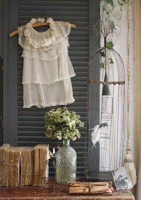 La maison boheme coeur en provence for Deco cage a oiseau