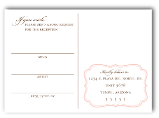 custom damask wedding invitation rsvp response
