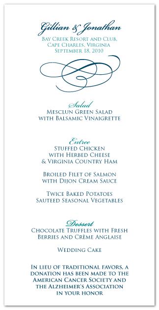 custom menu card design