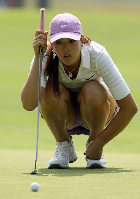 Porn pics of Michelle Wie golf chick