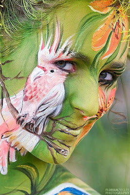 Face Girls Body Painting