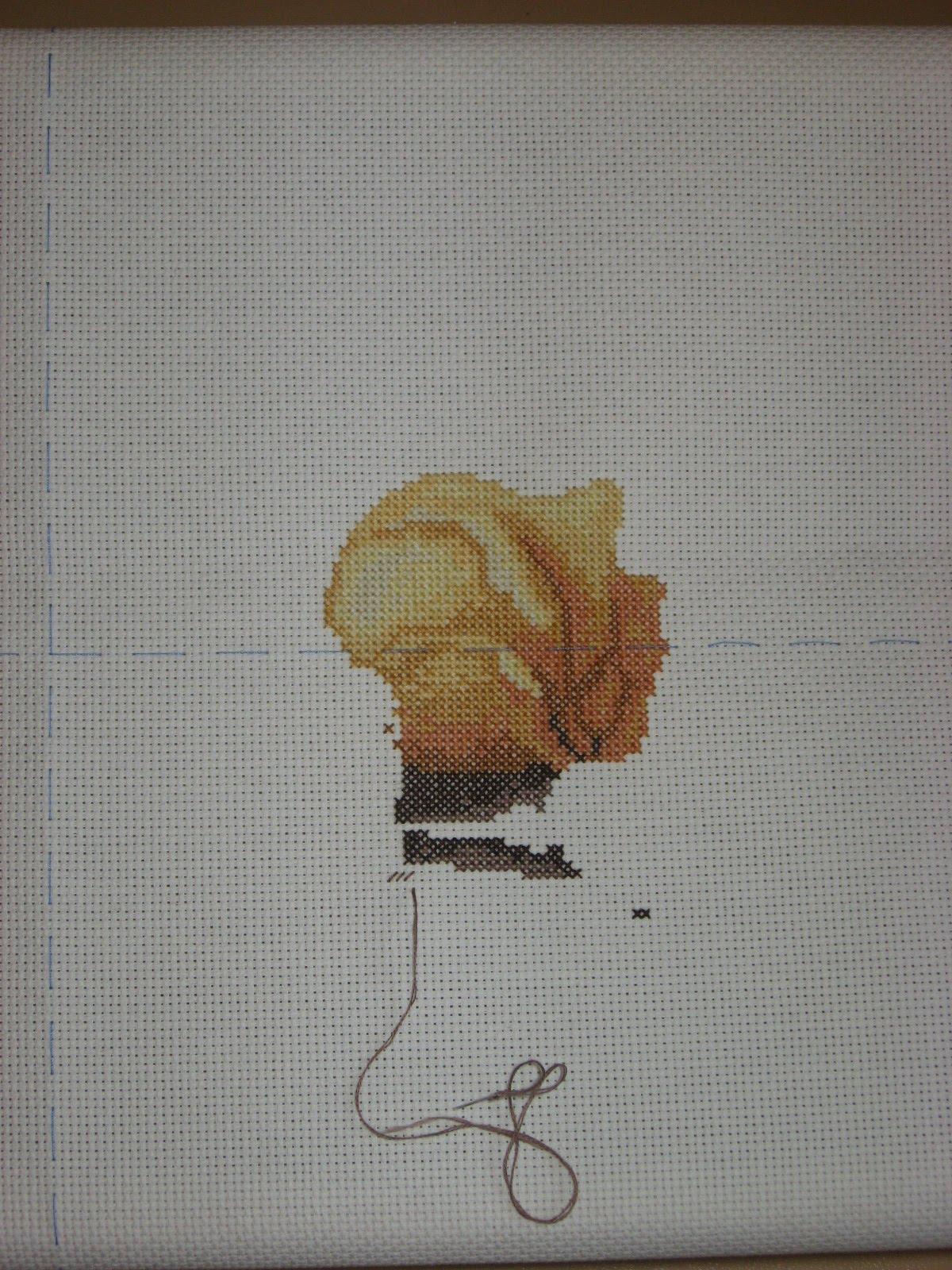 Вышивка душа розы от дименшенс