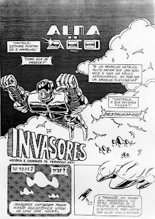 Alma de Aço - episodio Invasores, 1986