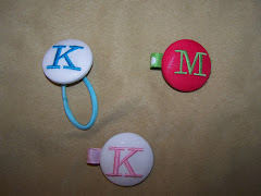 Ponytail Buttons and Clippies