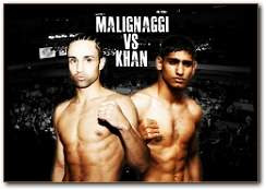 Amir Khan vs Paulie Maglinaggi Boxing Fight