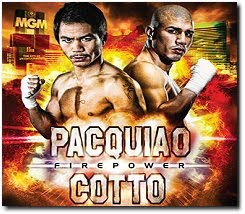 Manny Pacquiao Miguel Cotto Firepower