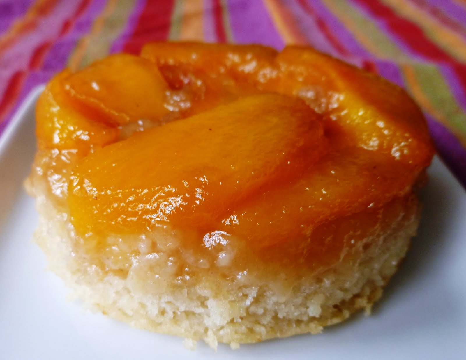 City Home/Country Home: Peach Upside Down Cake