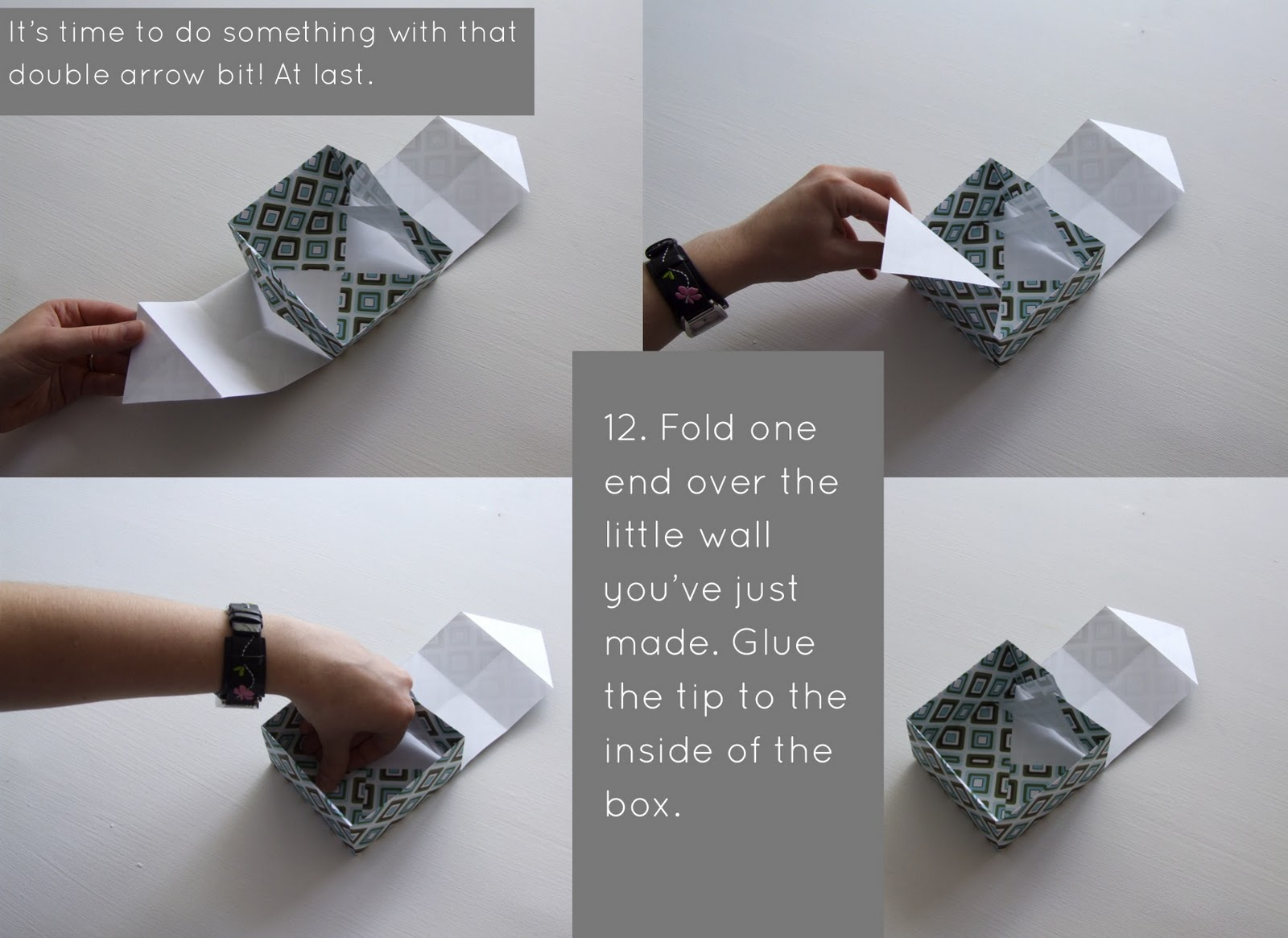 Pippa's Long Stockings: DIY Paper Box