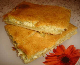 Хачапури с чесноком